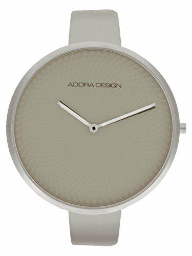 Adora Design Damenuhr mit Lederband Beige 44 MM AD8121