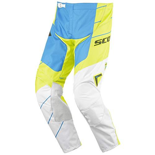 Scott 350 Race Motocross Hose 2016 30 Blau/Gelb/Weiß