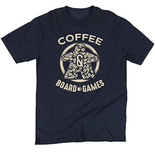 Coffee Bean Meeple - Board Game T-Shirt