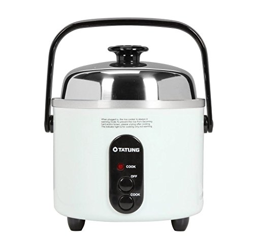 Tatung – TAC-3ASF – 3 Cup Multi-Functional Rice Cooker – White