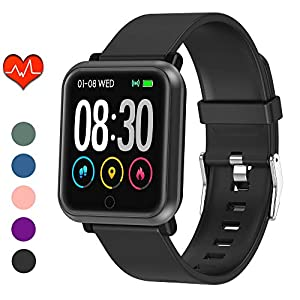 EpochAir Fitness Tracker, Waterproof Activity Tracker, Smart Watch with Heart Rate Monitor, Sleep Monitor, Pedometer…