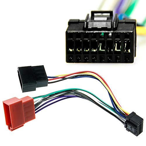 Alpine DIN ISO Auto Radio Adaptador Cable conector CDA CDE RM R RB S Ri CDM Flex