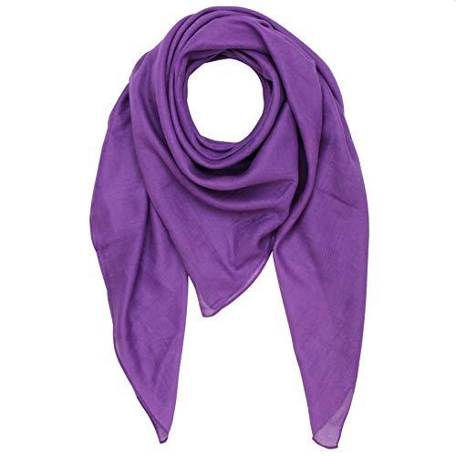 Superfreak Baumwolltuch - lila - quadratisches Tuch