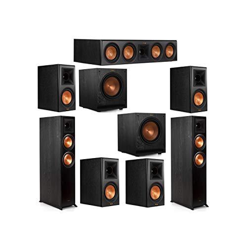 Sale!! Klipsch 7.2 System with 2 RP-6000F Floorstanding Speakers, 1 Klipsch RP-504C Center Speaker, ...