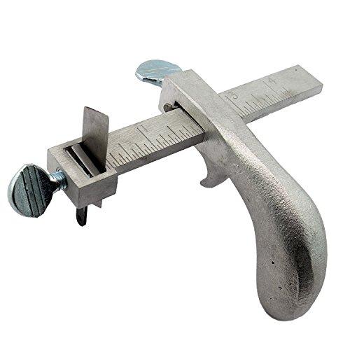 C.S. Osborne Draw Gauge #51-1/2 Leather Cutting Tool Made in USA
