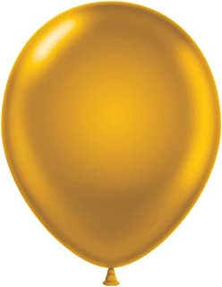 "Maple City Rubber Tuftex Latex Balloon, 11"", Gold - 100-31"