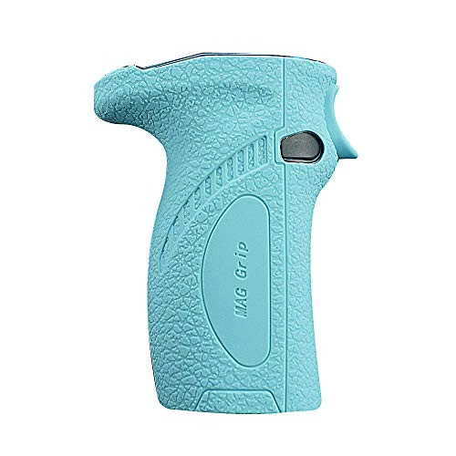 DSC-Mart Texture Case for SMOK Mag Grip 100W Kit Box MOD Protective Silicone Skin Rubber Cover Sleeve Wrap Gel (TFblue)