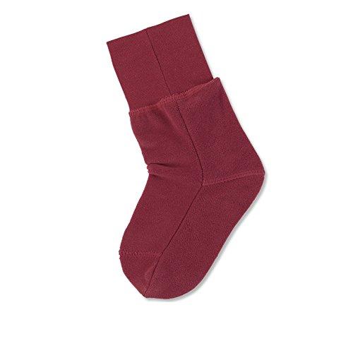 Sterntaler Fleece-Socke, Alter: 18-24 Monate, Rot (Chili 802), Größe: 22