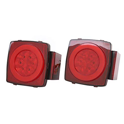 Suuone 1 paar 12V IP65 LED achterlicht achterlicht achterlicht achterlicht super helder waterdicht