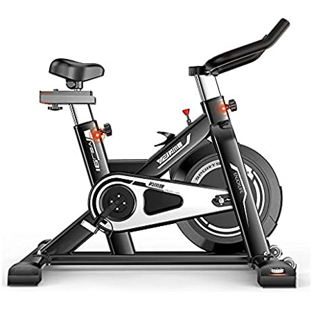 IRIS Fitness YEJ-QM80 Indoor Exercise Bike Cycling, Spinning Bike, Belt  Driven, 6kg Flywheel, LCD Monitor, Adjustable Resistance Cardio Bike for  Home/Gym Use (106 * 56 * 114 cm): Amazon.in: Sports, Fitness & Outdoors