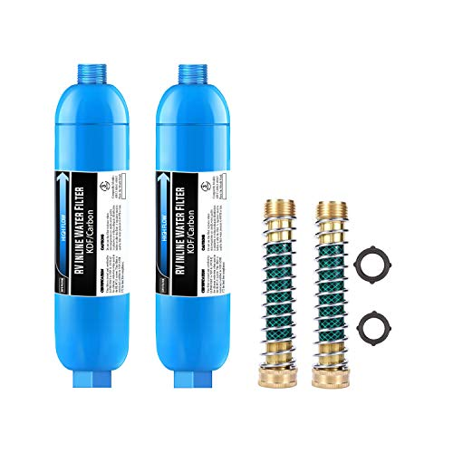 Lifefilter RV Inline Water Filter with Flexible Hose ...