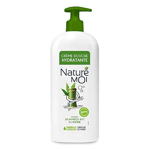 Naturé Moi - Crème douche hydratante à l'extrait de bambou bio du Rhône - Hydrate et nourrit les peaux normales à sèches - 750 ml