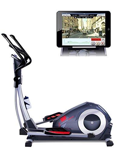 Sportstech CX620 Cardio Training Ellittica Professionale con Il Controllo Smartphone App + Google Street View, Massa d'inerzia di 21 kg, HRC - 32 Livelli di Resistenza - hometrainer ergometro Stepper