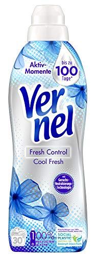 Vernel Fresh Control Cool Fresh, Weichspüler gegen schlechte Gerüche, 360 (12 x 30) Waschladungen