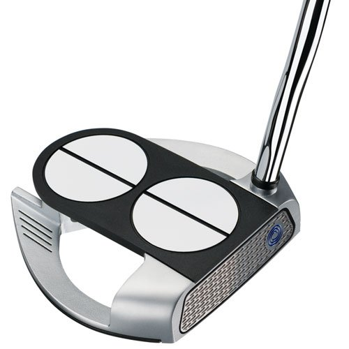 Product Image 1: Odyssey Golf Men's Lined Versa with Superstroke Grip Works 2-Ball Fang Putter