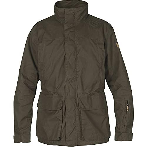 FJÄLLRÄVEN Brenner Pro Jacket M Veste de sport Homme Dark Olive FR: L (Taille Fabricant: L)