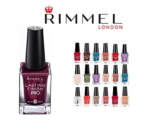 Rimmel Londons Lasting Finish Pro Nail Enamel