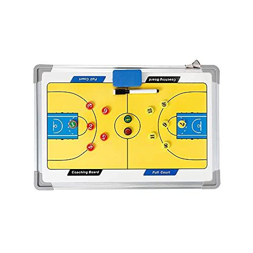FTYYSWL Tactic Board Coaching Board Coaching Coaches Tactical Board Pieghevole Calcio/Pallacanestro Calcio Magnetico Tattica Board