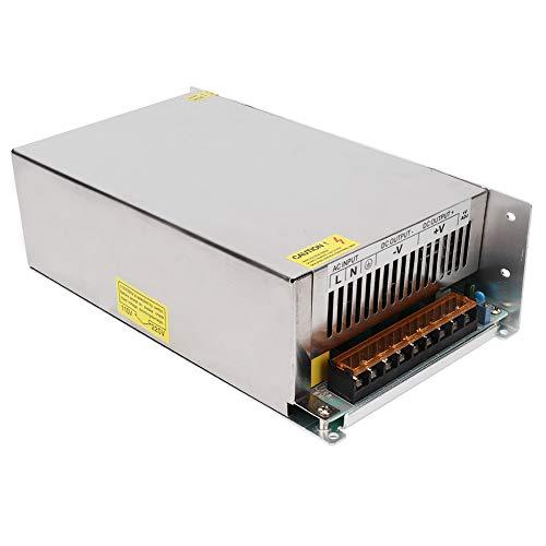 DC48V Ausgangsschalter Netzteil Treiber Aluminiumlegierung Netzteil Transformator LED-Bildschirmstreifenlicht 3D-Druckertreiberadapter(S‑1500‑48(48V/31.3A/1500W) AC170‑250V))