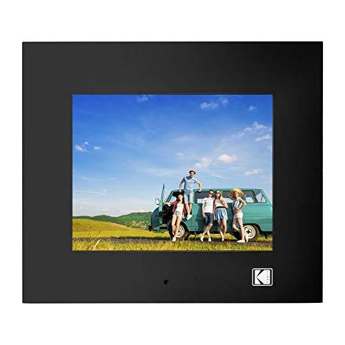 KODAK RDPF-802W 8 inch Multi-Function Digital Photo Frame (Black) Digital Frames Picture