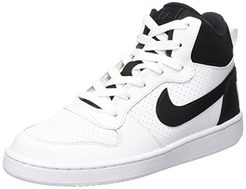 Nike Court Borough Mid (GS), Scarpe da Basket Unisex Bambini