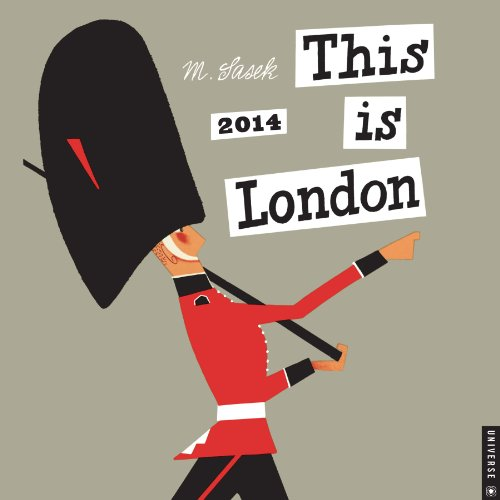 This is London 2014 Wall Calendar
