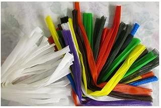 Yarn Bras Yarn Sleeves Best Darn Yarn Tenders 18 White SM and 18 LG Mixed Colors bdyt 01