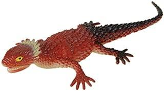 Rhode Island Novelty Red PVC Soft Plastic Reptile Lizard Decoration