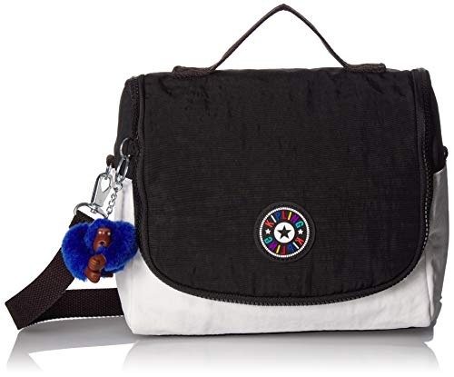 Kipling Kichirou Insulated Lunch Bag, Removable, Adjustable Crossbody Strap, Zip Closure, Bw Combo