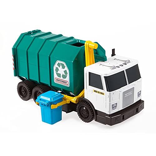 Matchbox Garbage Truck Large [Amazon Exclusive] Multi, 15'