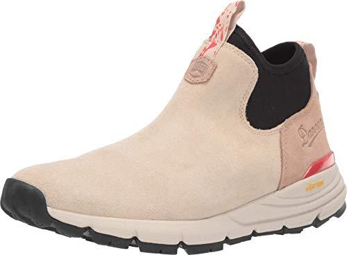 "Danner Women's 36237 Mountain 600 Chelsea 4"" Lifestyle Boot, Warm Sand/Poppy - 7.5 M"