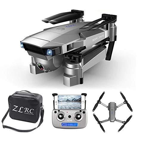 Drone Com Câmera 4k Com Gps Glonass Profissional Drone 4k Duas Câmeras WiFi 5Ghz Siga-me Retorno Automático Controle por Gestos Motores Brusheless 2021 sg907s Gps - Com GPS Camera 4k + Bolsa