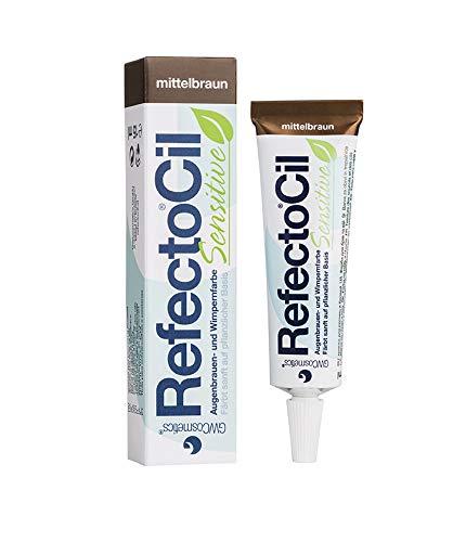 Refectocil Sensitive Augenbrauen/Wimpernfarbe mittelbraun 15ml