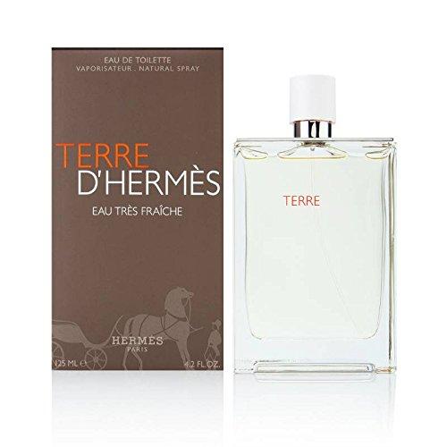 Terre d'Hermes Eau Tres Fraiche by Hermes for Men 4.2 oz Eau de Toilette Spray