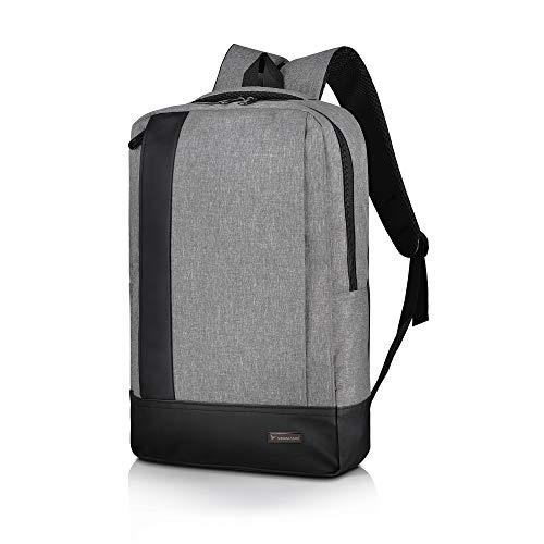 Vegmann AV1901 Rucksack | Laptopfach 15.6 Zoll | Wasserdicht | Herren Damen Tasche | Backpack Daypack | School Bag | Schulrucksack | Laptoprucksack | Arbeitstasche Aktentasche | MacBook Notebook Ipad