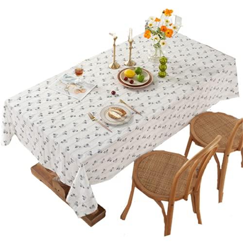 Mantel Rectangular De Algodón para El Hogar, Mantel con Estampado De Flores, Mantel De Cocina, Mantel De Cocina, Mantel De Té para Hotel, Mantel Cuadrado, Mantel 120x180cm