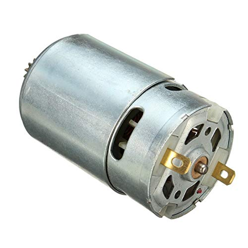 Jjzhb PYunLi-Dc Motor 12 Teeths Electric Gear DC Motor, for Cordless Drill Screwdriver Maintenance Spare Parts, 7.2/12/16.8/21V, parts (Voltage(V) : 21V)
