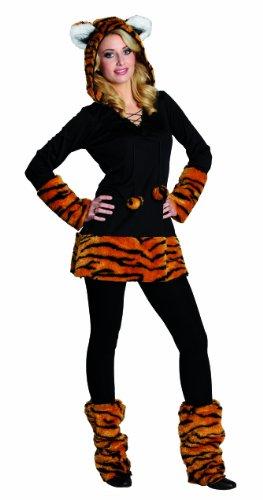 Rubies 13706- Disfraz de Tigre para mujer, Disfraz para carnaval, talla 36.