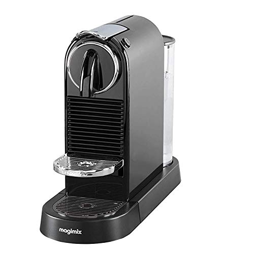 Includes a selection of 16 different Nespresso capsules,Fast 25 seconds heat up time , Coffee machine Power - 220-240 Volts,Removable 1 L water tank,Auto power off,Programmable, one-touch buttons