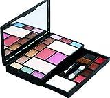 Khelni Fashion Makeup Kit - 10 Eye Shadows Palette 4 Lip Colour 2 Compact Powders 2 Blushers