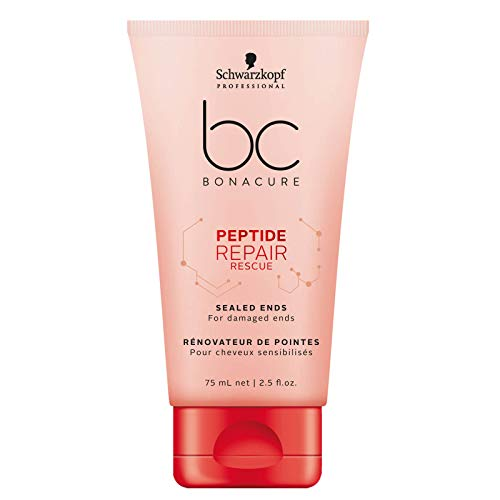 Schwarzkopf BC Bonacure Repair Rescue Sealed Ends - Suero, rescate extremos sellados, 75 ml