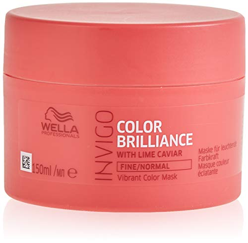 Wella Color Invigo Brilliance, Mascarilla para el pelo - 150 ml.