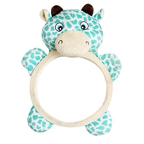 Baby Safety ReaView Miroir Creative Haha Miroir Dessin animé Girafe En forme de distorsion de la voiture de réverbère