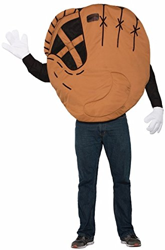 Forum Men's Baseball Mitt Costume, Multi/Color, One Size