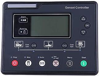 SNOWINSPRING SL6120U Grupo ElectróGeno AMF Controlador LCD Arranque AutomáTico Grupo ElectróGeno Ats Caja de Control Terminal Panel de Carga Alternador Parte 6120