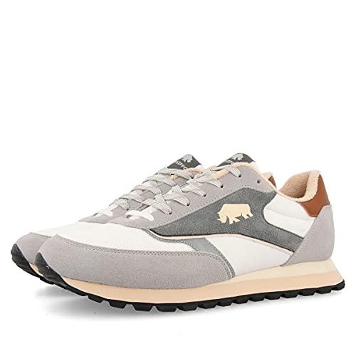 Sneakers Grises Estilo Vintage para Hombre KORIOLOV