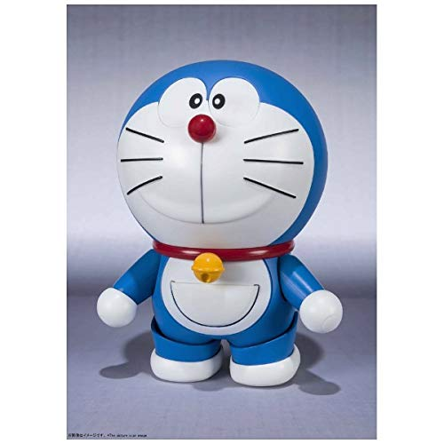 Bandai Tamashii Nations Doraemon Robot Spirits Action Figure Doraemon (Best Selection) 10 cm