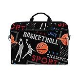 AGONA Basketball Laptop Shoulder Messenger Bag 15 inch Case Sleeve for 14 Inch Laptop Case Laptop Briefcase Compatible Notebook MacBook Ultrabook Chromebook