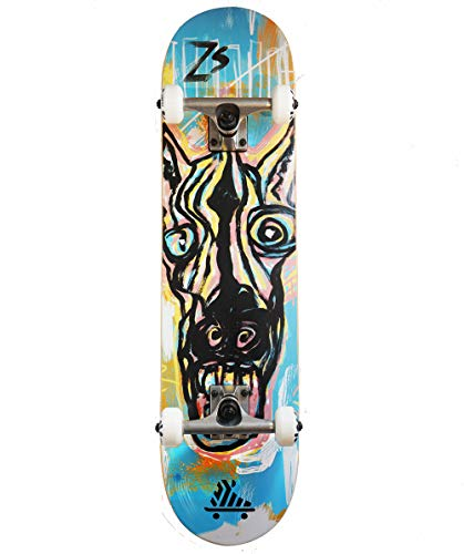Crazy Zebra Complete PRO - Skateboard da 7,75'