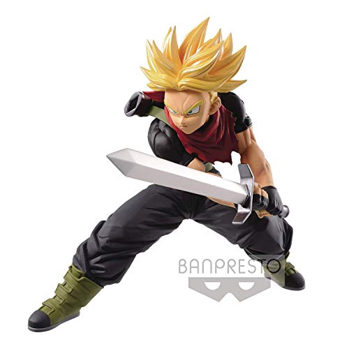 Ban Presto Dragon Ball Z - Figurine Super Saiyan Trunk, 14cm